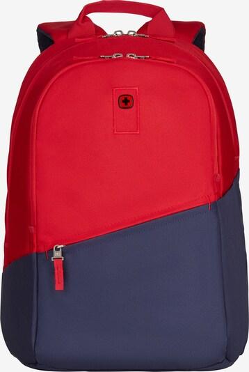 WENGER Ruckack in dunkelblau / rot, Produktansicht