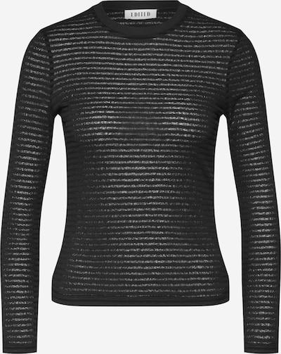 EDITED Langarmshirt 'Jenna' in schwarz, Produktansicht