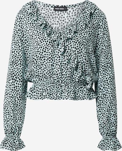 Tally Weijl Bluzka w kolorze lazur / czarnym, Podgląd produktu