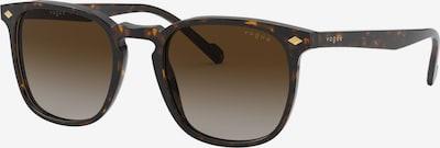 VOGUE Eyewear Sluneční brýle - tmavě hnědá: Pohled zepředu