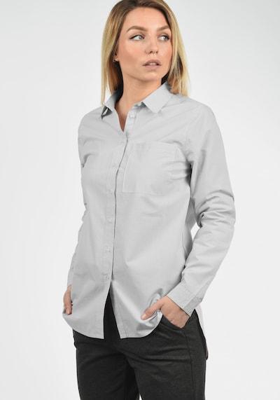 DESIRES Hemdbluse 'Drina' in grau / weiß, Produktansicht