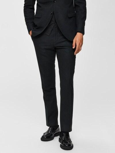 SELECTED HOMME Hose in schwarz, Modelansicht