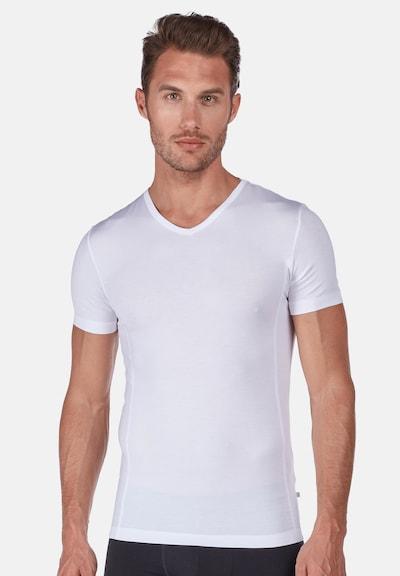 HUBER T-Shirt 'Tyson' in weiß, Modelansicht