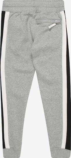 Nike Sportswear Hose in grau / schwarz / weiß: Rückansicht