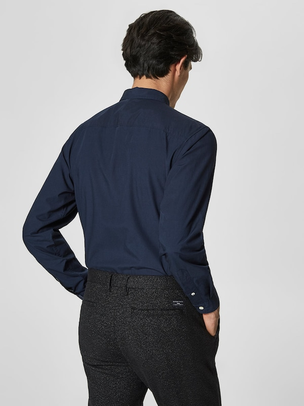 SELECTED HOMME Kariertes Slim Fit Hemd