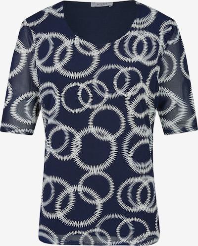 Seidel Moden Shirt in navy / weiß, Produktansicht