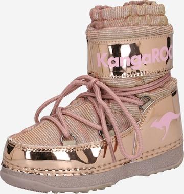 KangaROOS Snowboots 'K-Moon' in Pink