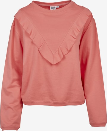 Urban Classics Sweatshirt in Orange