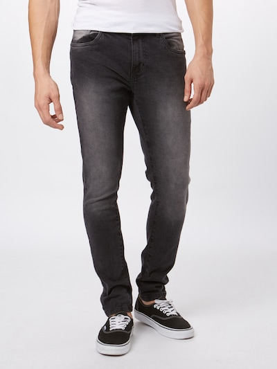 Urban Classics Jeans 'Relaxed Fit Jeans' in black denim, Modelansicht