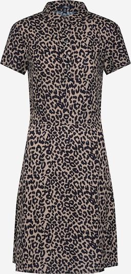 Mavi Kleid in braun / schwarz, Produktansicht