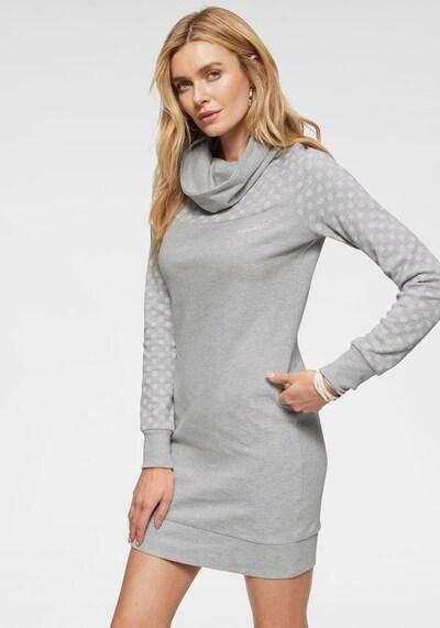 KangaROOS Sweatkleid in grau, Modelansicht