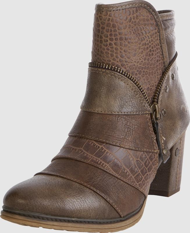 MUSTANG AnkleStiefel mit Zipperdetail Synthetik Verkaufen Sie saisonale Aktionen