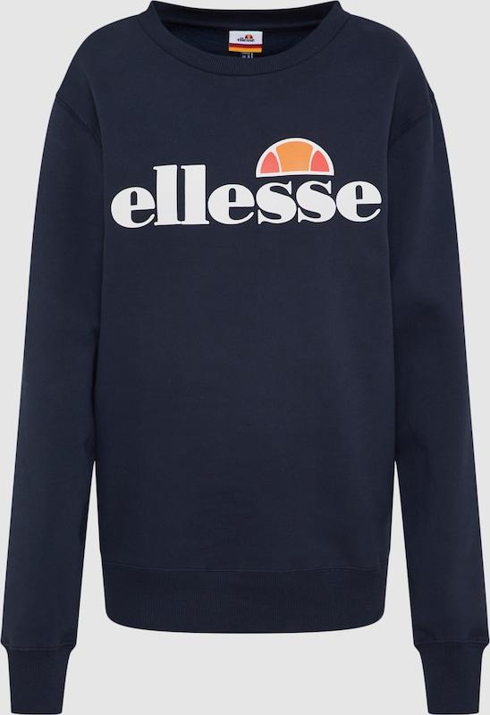 ELLESSE Sweatshirt 'Agata' in dunkelblau  Markenkleidung für Männer und Frauen