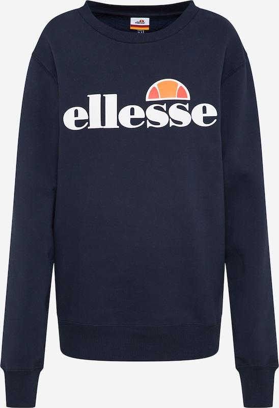 ELLESSE Sweatshirt 'Agata' in Dunkelblau | ABOUT YOU
