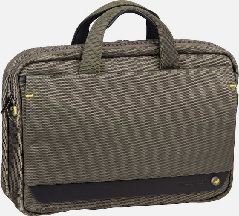 MANDARINA DUCK Laptoptasche ' Mr. Duck Briefcase STC02 ' in braun, Produktansicht