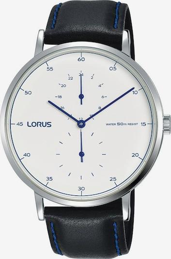 LORUS Uhr 'R3A51AX8' in schwarz / silber / weiß, Produktansicht