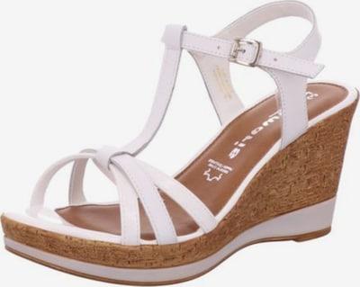 TAMARIS Sandalen/Sandaletten in weiß, Produktansicht