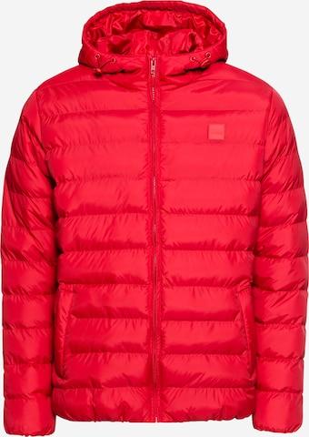 Veste mi-saison Urban Classics Big & Tall en rouge