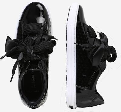 MARCO TOZZI Sneaker in schwarz / weiß: Seitenansicht
