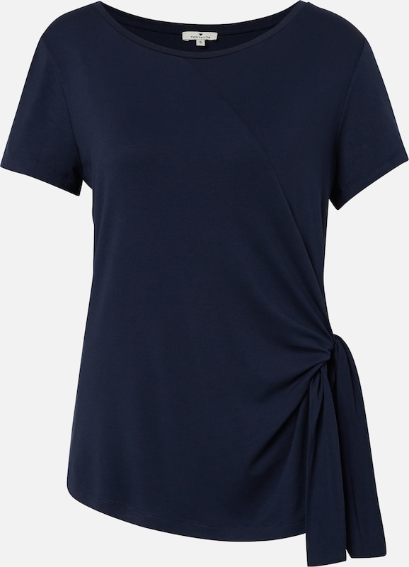 TOM TAILOR T-Shirt in navy: Frontalansicht