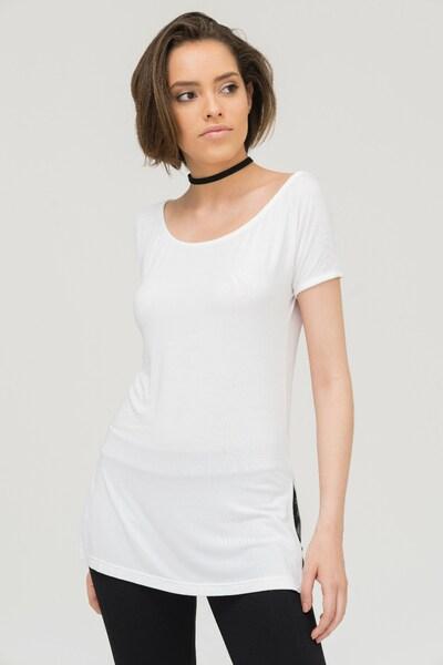 trueprodigy Longshirt 'Naira' in weiß, Produktansicht