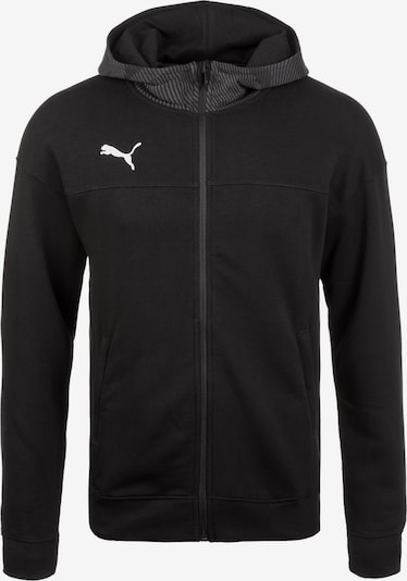 PUMA Sportsweatvest in de kleur Zwart, Productweergave