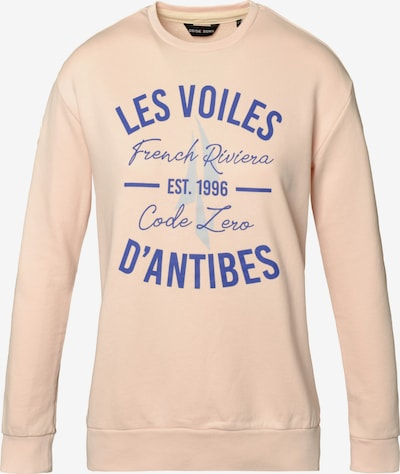 CODE-ZERO Sweater 'Antibes Le Mer' in blau / rosa, Produktansicht