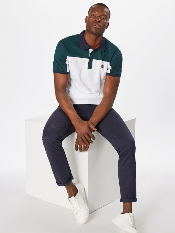 Jones Bleu Jackamp; shirt En T Blanc Chiné NuitSapin trCxsdhQ