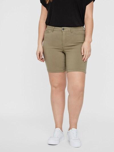 Junarose Shorts in oliv, Modelansicht