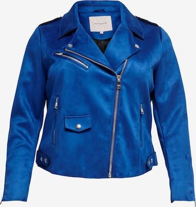 ONLY Carmakoma Jacke in blau: Frontalansicht