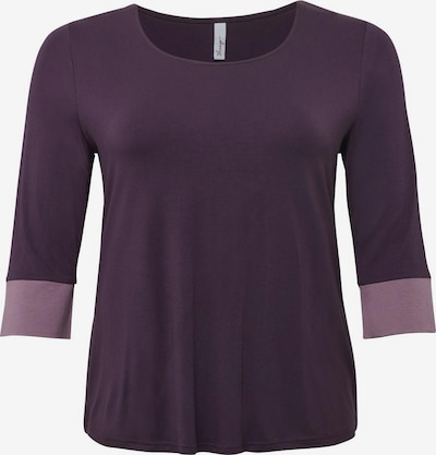 sheego style Shirt in pflaume / mauve, Produktansicht
