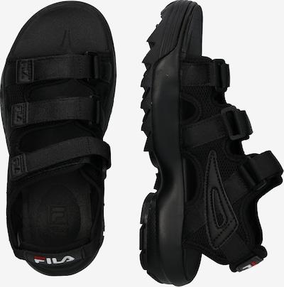 FILA Sandaal 'Disruptor Sandal wmn' in de kleur Zwart: Zijaanzicht