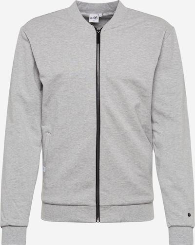 Hailys Men Sweat jacket 'Jonas' in grey mottled, Item view