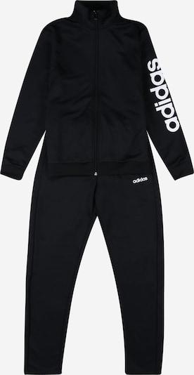 ADIDAS PERFORMANCE Trainingsanzug 'Pes' in schwarz / weiß, Produktansicht