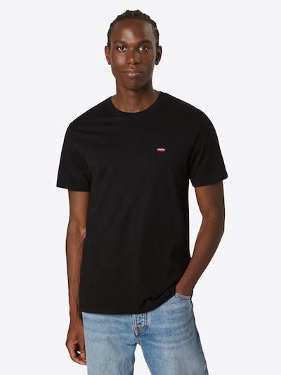 LEVI'S T-Shirt 'ORIGINAL HM TEE' in rot / schwarz: Frontalansicht