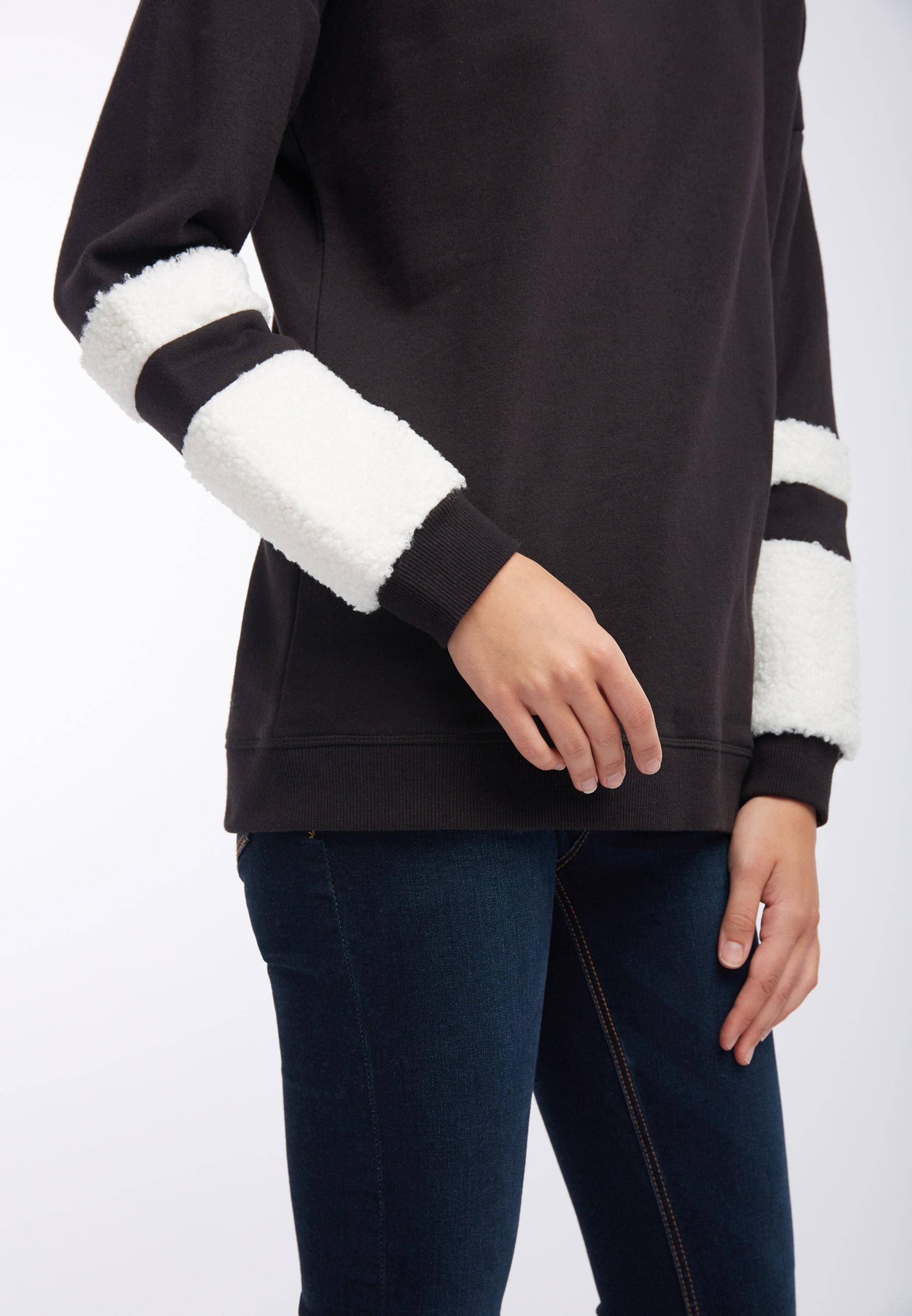 Sweatshirt Mymo In Mymo SchwarzWeiß Sweatshirt SchwarzWeiß In IvYf6mb7gy