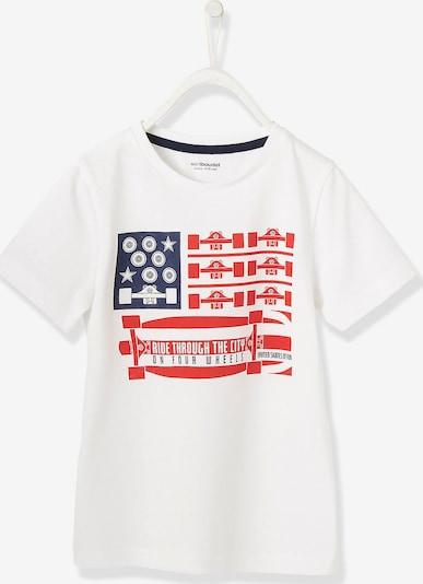 VERTBAUDET Shirt in blau / rot / weiß, Produktansicht