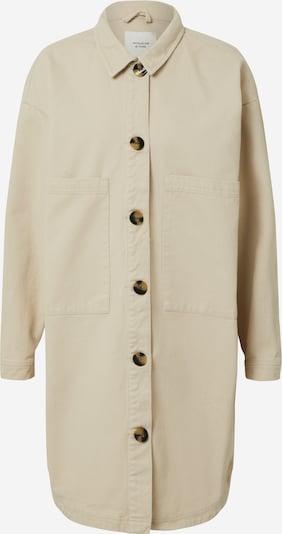 JACQUELINE de YONG Bluse 'SLAM WORKER' in beige / grau, Produktansicht