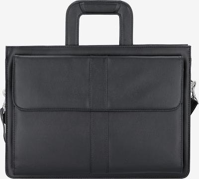 Alassio Aktentasche 'Aversa' in schwarz, Produktansicht