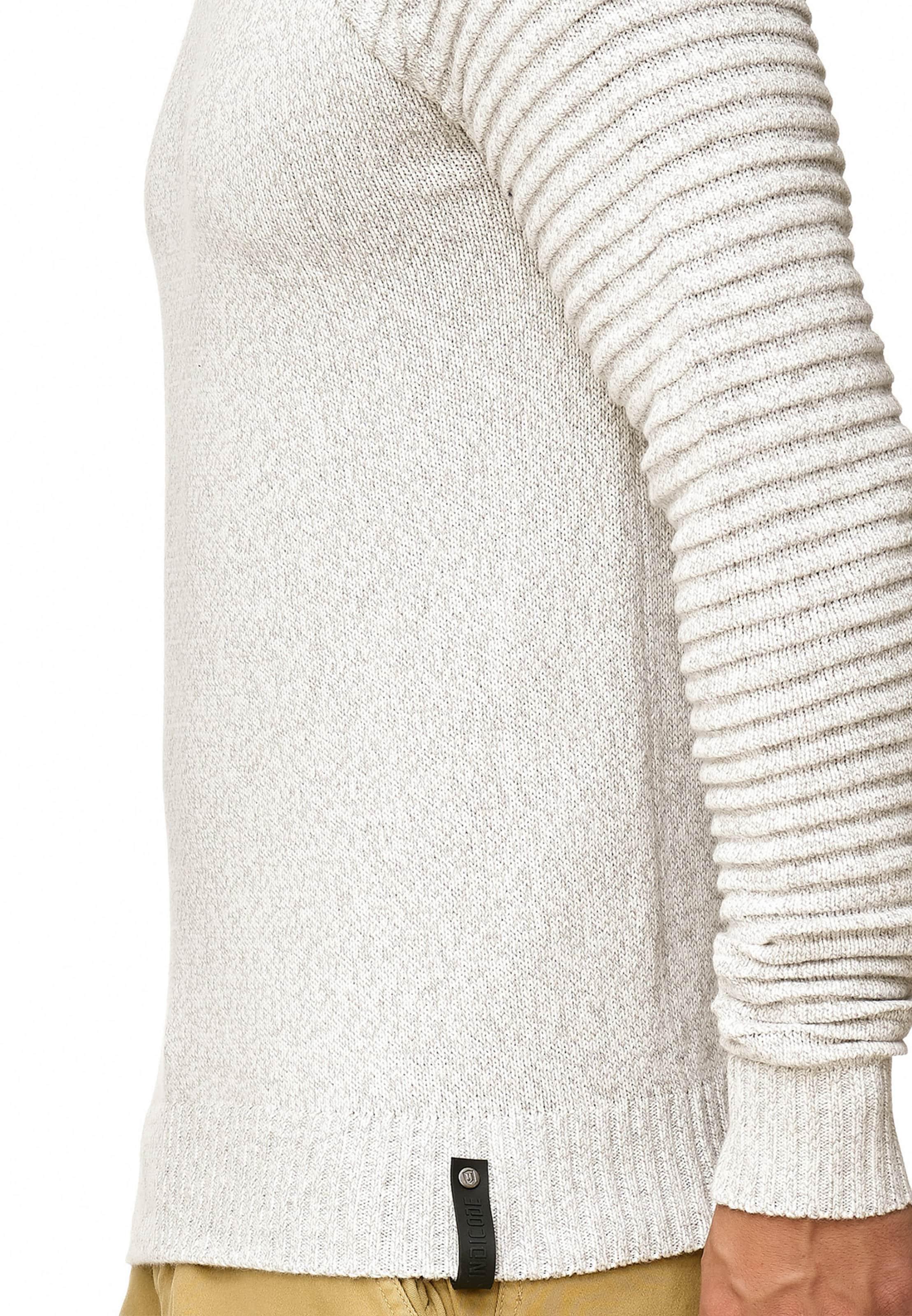 over 'maxime' Indicode Pull En Cassé Jeans Blanc 6ybf7g
