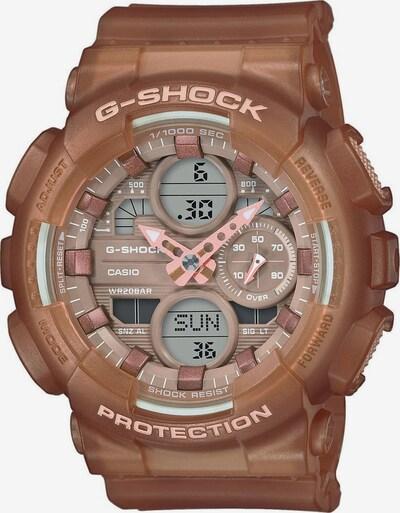 CASIO Uhr 'G-SHOCK' in braun / grau / rosa / schwarz, Produktansicht