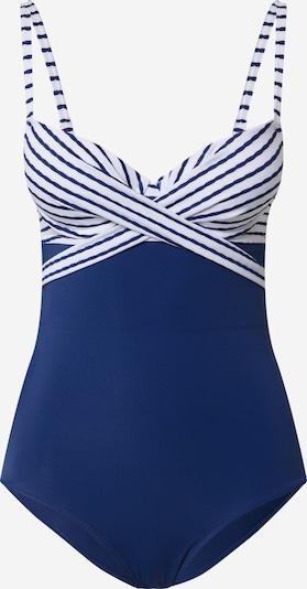 ESOTIQ Badpak 'MARINE' in de kleur Blauw / Wit, Productweergave