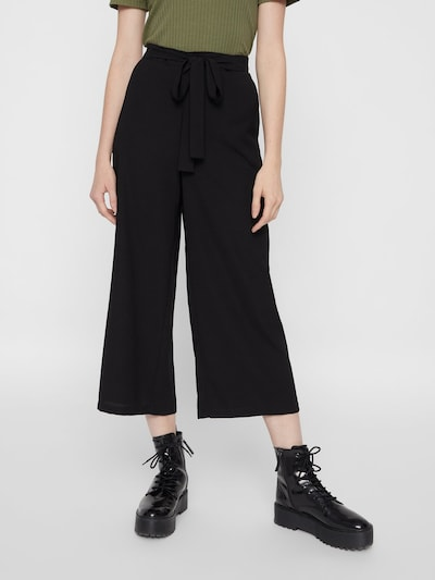 PIECES Culotte 'KELLIE' in schwarz, Modelansicht