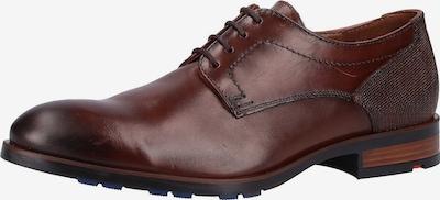 LLOYD Chaussure à lacets en marron châtaigne: Vue de face