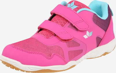 Sportbačiai 'Hot Indoor V' iš LICO , spalva - turkio spalva / purpurinė / rožinė, Prekių apžvalga