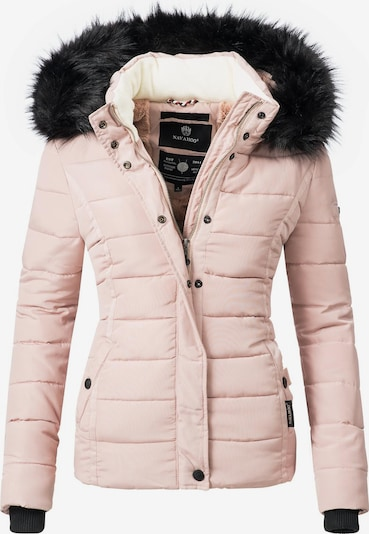 NAVAHOO Winterjacke 'Miamor' in rosa / schwarz, Produktansicht