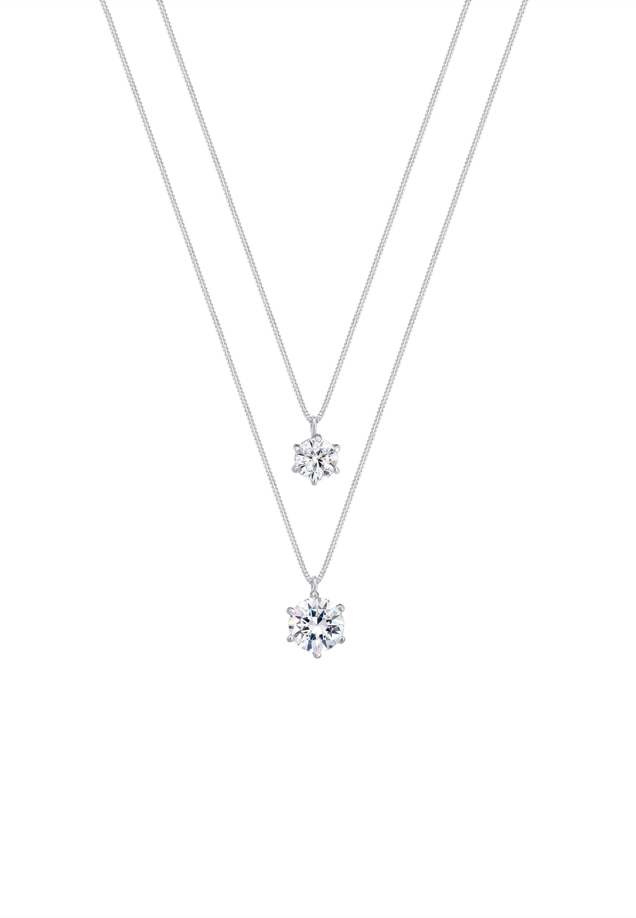 Halskette SilberTransparent Elli Halskette Elli In 7v6gfyYb