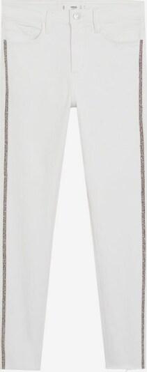 MANGO Jeans brillos in weiß, Produktansicht