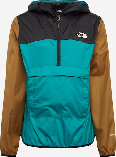 THE NORTH FACE Functionele jas 'FANORAK' in de kleur Groen / Kaki / Zwart, Productweergave