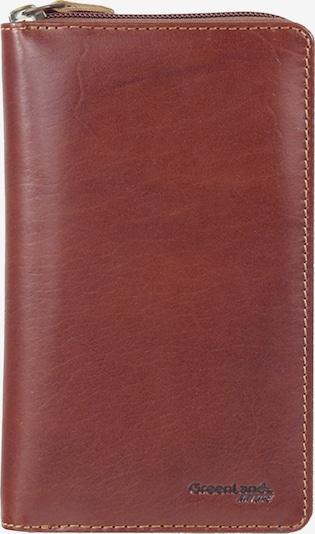 GREENLAND Geldbörse 'Rubin' in braun, Produktansicht
